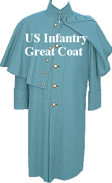 US Cavalry Mounted Great Coat with Cape 48